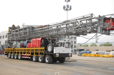 3000m truck-mounted rig