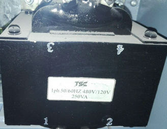 TSC 1PH 50/60HZ 480/120V 250VA