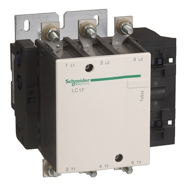 Schneider TeSys F Series Three-Pole Contactor Body, LC1F185