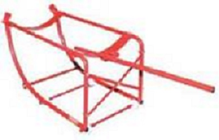 KEN5404400K   205 Litre Tilting Drum Cradle.
